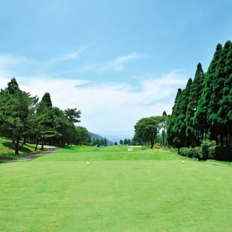 Golf course in Japan